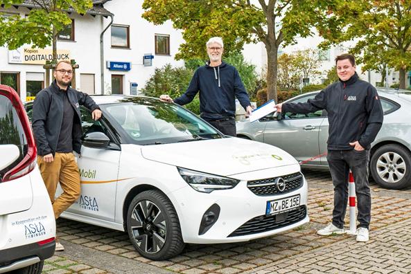 Vianova-Mitglied UrStrom eG gewinnt bundesweite Ausschreibung für e-Carsharing an der TH Bingen