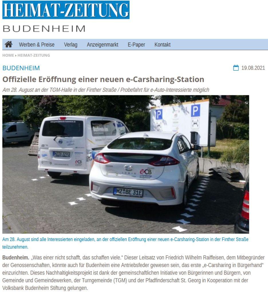 Heimat-Zeitung Budenheim